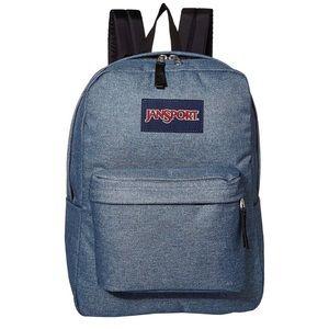JanSport SuperBreak Vendor Blue School Backpack
